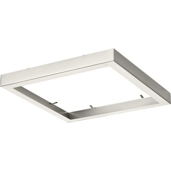 """Everlume Collection Brushed Nickel 11"""" Edgelit Square Trim Ring (149
