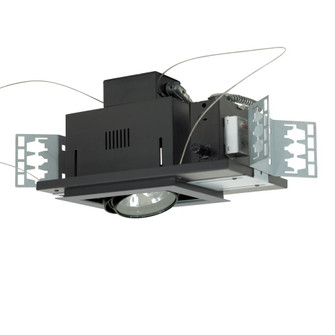 1-Light Double Gimbal Recessed Low Voltage Fixture (614|MGA1751ESB)