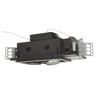 2-Light Double Gimbal Linear Recessed Low Voltage Fixture (614|MGA1752ESB)