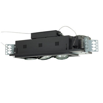 3-Light Double Gimbal Linear Recessed Low Voltage Fixture (614|MGA1753ESB)