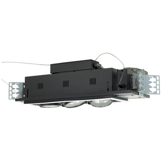3-Light Double Gimbal Linear Recessed Low Voltage Fixture (614|MGA1753EWB)