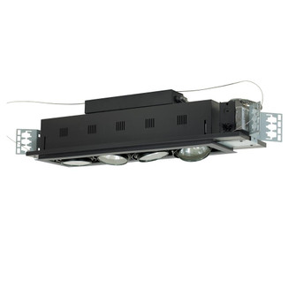 4-Light Double Gimbal Linear Recessed Low Voltage Fixture (614|MGA1754ESB)