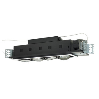 4-Light Double Gimbal Linear Recessed Low Voltage Fixture (614|MGA1754EWB)