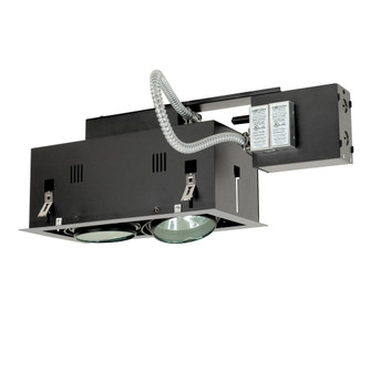 2-Light Double Gimbal Linear Recessed Fixture Low Voltage (614|MGRA1752ESB)