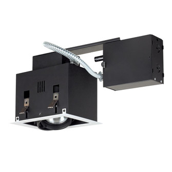 1-Light Double Gimbal Recessed Fixture Line Voltage. (614|MGRP201WB)