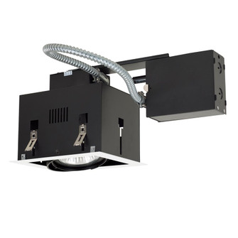 1-Light Double Gimbal Recessed Fixture Line Voltage. (614|MGRP301WB)