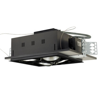 Four-Light Square Double Gimbal New Construction (614|MGP384SBB)
