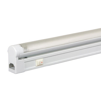 Sleek Plus Adjustable High Output T5 3-Wire Fluorescent Fixture W/ Rocker Switch (614|SG5AHO24SW64WH)
