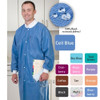 ValuMax Extra-Safe Lab Coat Knee Legnth SMS Color Chart