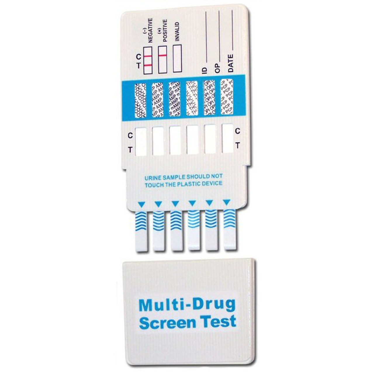 Abbott Diagnostics 10 Panel Drug Test Dip Card Alere Toxicology DOA-1104, DOA-1104-531, DOA-2104, DOA-3104