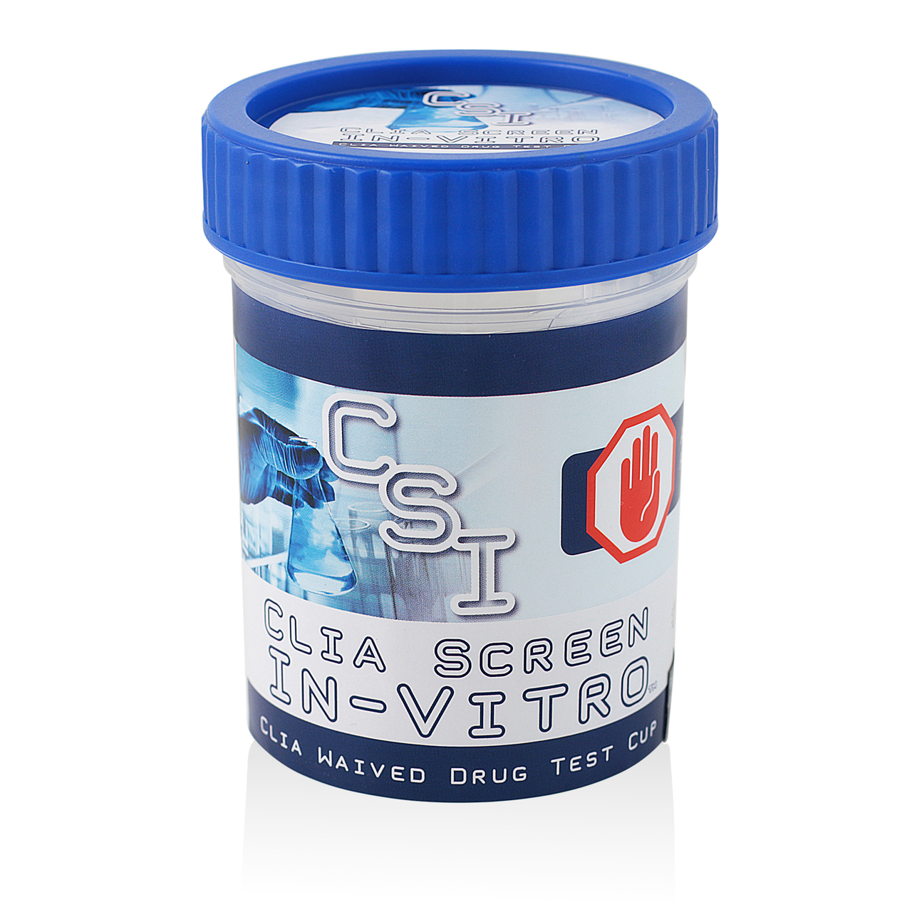 12 Panel Multi-Drug Screen Test Cup CSI CLIA Waived 25/Box