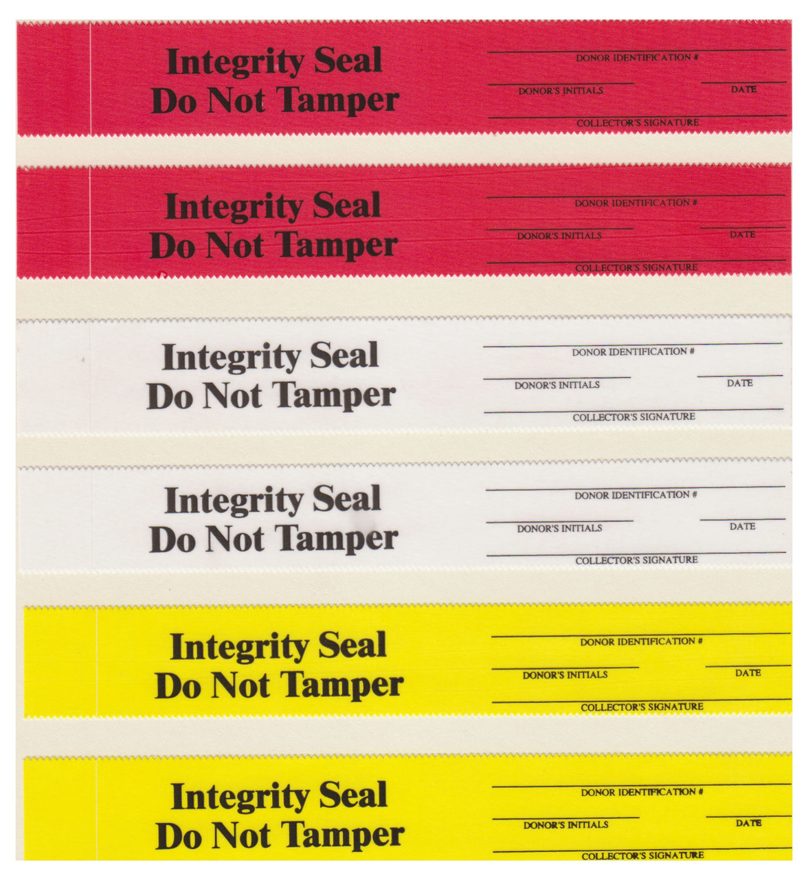 Tamper Evident Security / Integrity Seal Acetate Film 400/Package