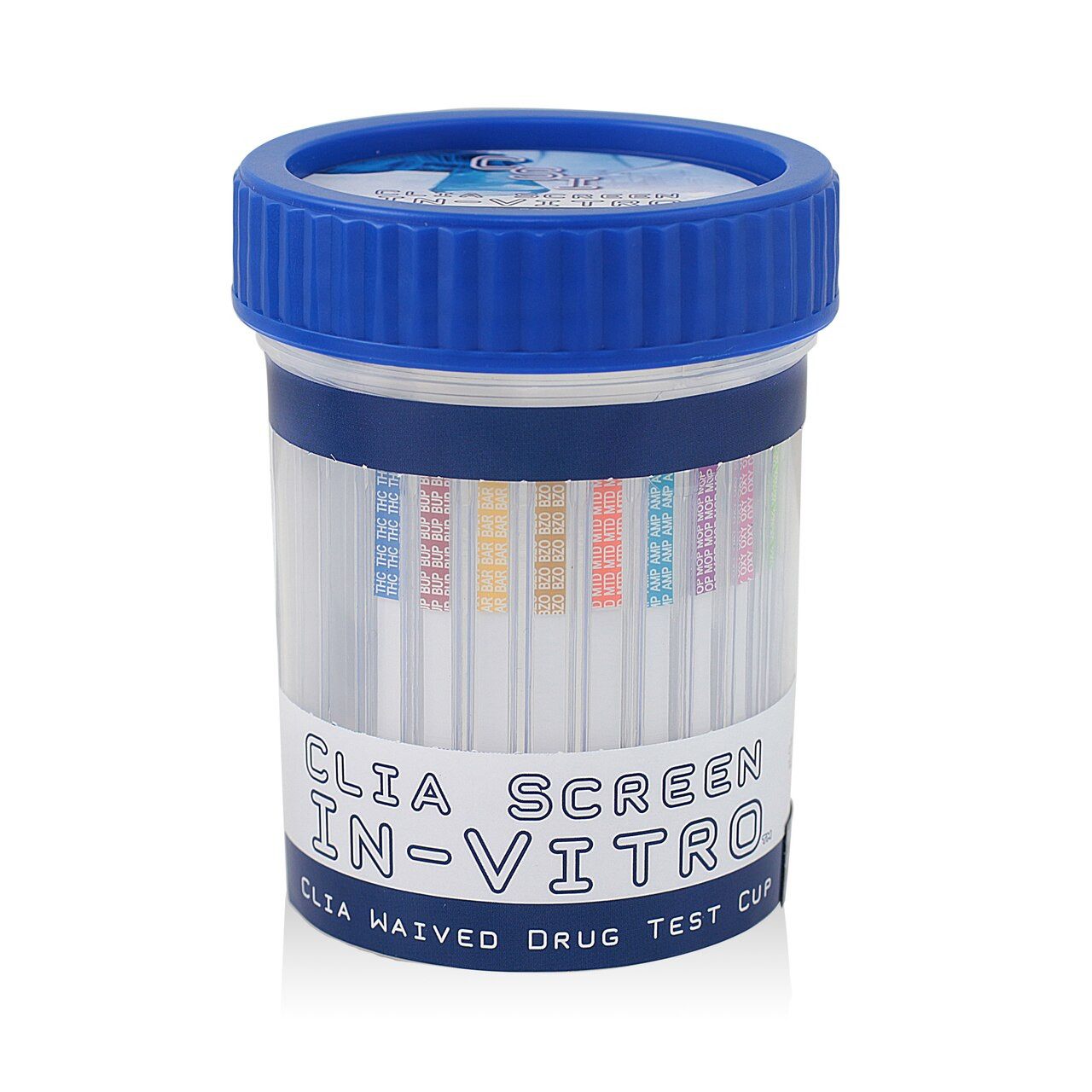 5 Panel Multi-Drug Screen Test Cup CSI CLIA Waived 25/Box
