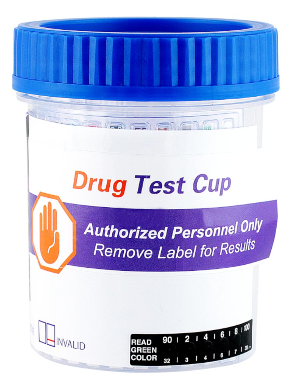 Healgen 16 Panel Urine Drug Test Cup with Alcohol ETG, FEN Fentanyl, K2 Spice, TRA Tramadol