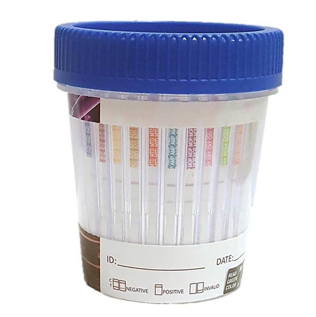 12 Panel Urine Drug Tapered Test Cup 25/box