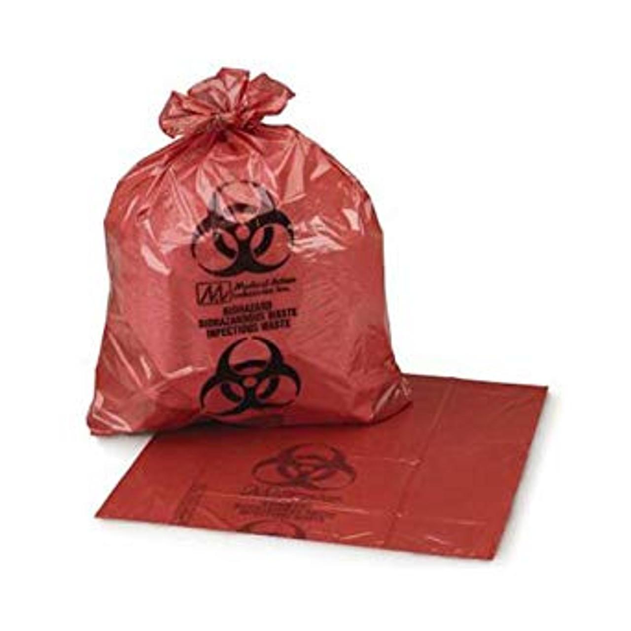 20-30 Gallon Biohazard Bag (Red) 250/case