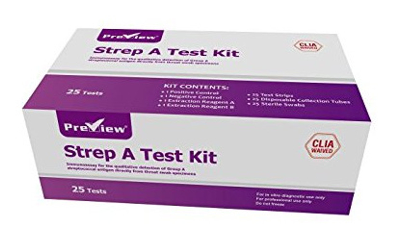 Preview Strep-A Throat Swab Instant Results W-39-S from Wondfo USA