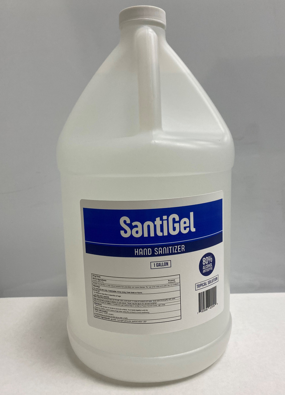 1 Gallon SaniGel Refil Gel Hand Sanitizer 80% Alcohol