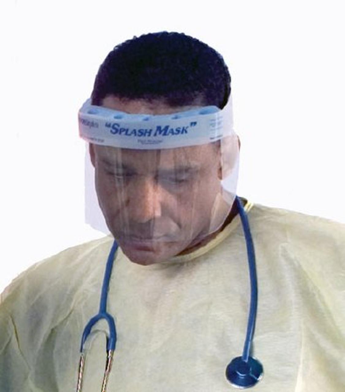 Embrace Splash Mask Face Shield Embrace Velcro Strap