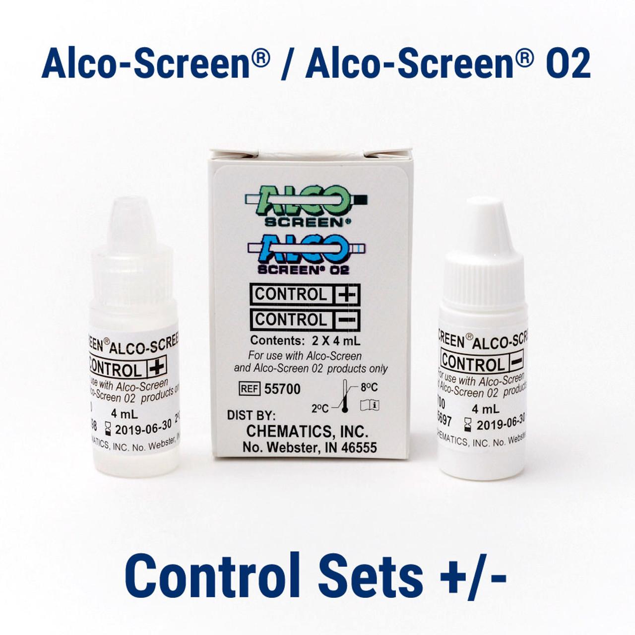 Alco-Screen ALCO 02 Control Set Chematics