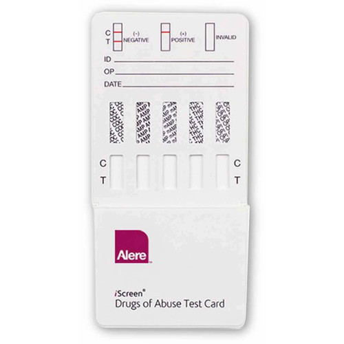 IS10 Abbott Diagnostics 10 Panel Drug Test Dip Card Alere Toxicology