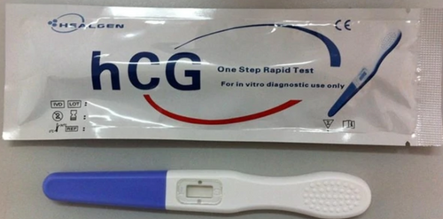 hCG Pregnancy Test Mini-Midstream 20/Box