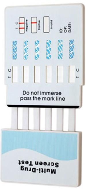 10 Panel Drug Test Dip Card by Wondfo CLIA Waived 25/Box
