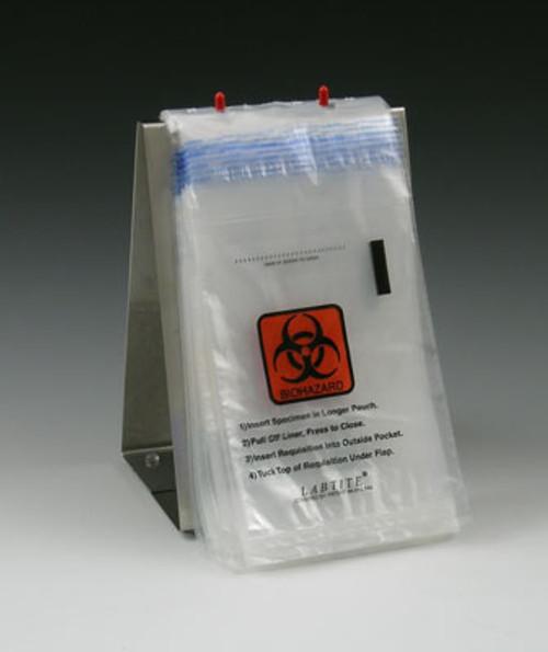 "LabTite Specimen Transport Biohazard Bag 6x10"", 1000/Case"