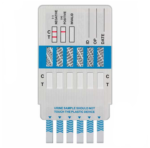 12 Panel Drug Test Dip Card by Alere / Abbott, 25/Box, Item Number DOA-1124-081_front