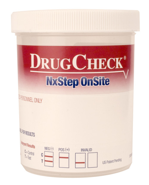10 Panel Drug Test Cup with Adulterants DrugCheck NxStep