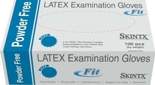 SKINTX Latex Powder-Free Exam Gloves 100/Box