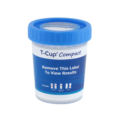 12 Panel T-Cup Compact Instant Drug Test Cup 25/Box