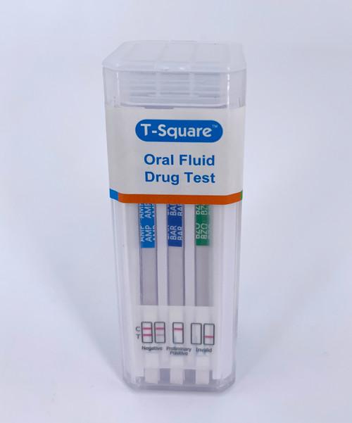 T-Square 10 panel Drug Test Oral Saliva Device