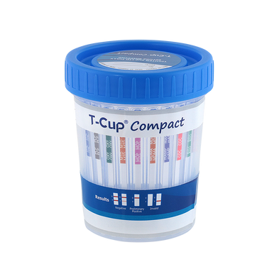12 Panel T Cup Compact Clia Waived Instant Drug Test Cup