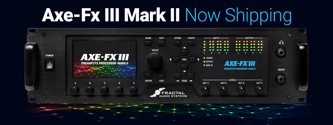 Axe-Fx III Mark II