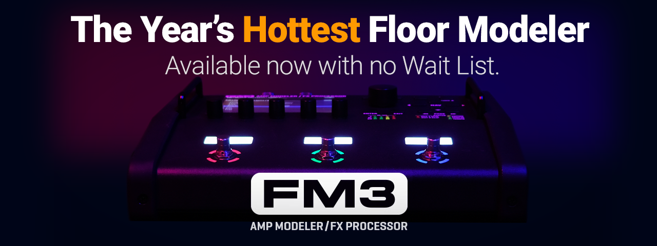 FM3 Amp Modeler FX Processor Floor Unit