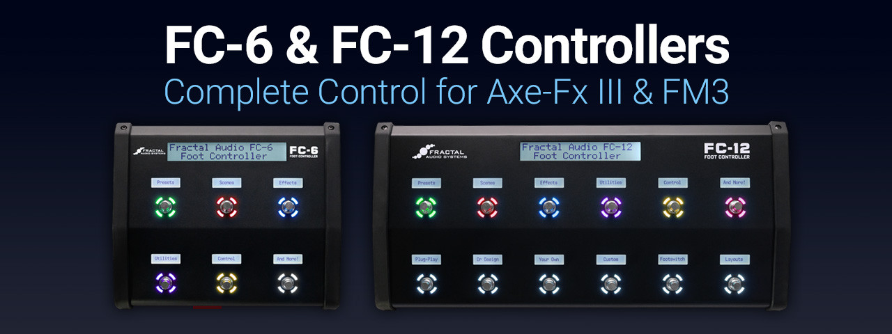 FC-6 & FC-12 Foot Controllers