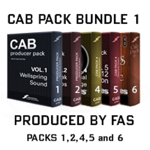 Cab Pack Bundle 1: Produced by FAS (1,2,4,5,6)