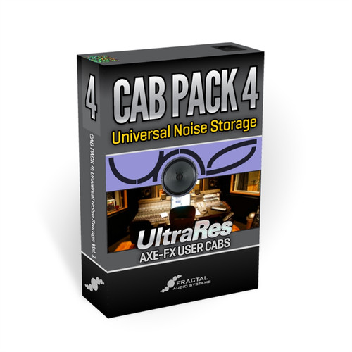 Cab Pack 4: Universal Noise Storage UltraRes