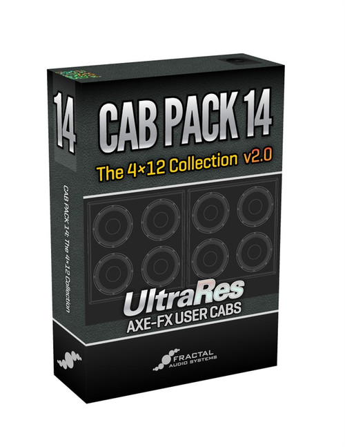 Cab Pack 14: The 4x12 Collection v2.0 UltraRes