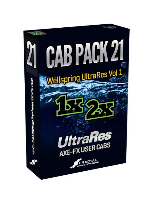 Cab Pack 21: Wellspring UltraRes Vol. 1 - 1x 2x