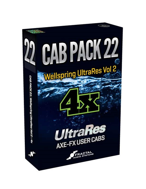 Cab Pack 22: Wellspring UltraRes Vol. 2 - 4x