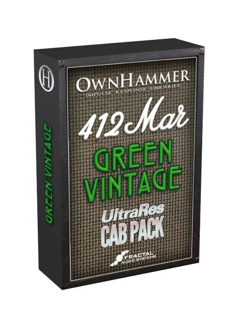 Cab Pack - OwnHammer 412 MAR Green Vintage
