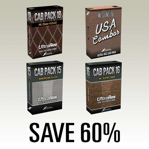 ML Vintage Combos UltraRes Cab Pack Bundle