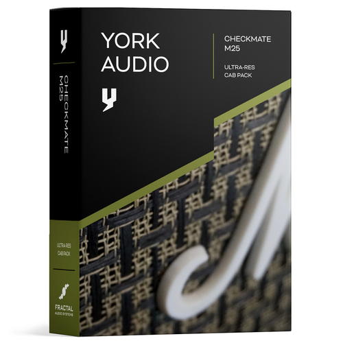 Cab Pack - York Audio Checkmate M25