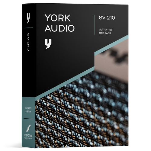 Cab Pack - York Audio SV-210