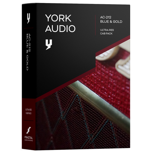 Cab Pack - York Audio AC-212 Blue & Gold