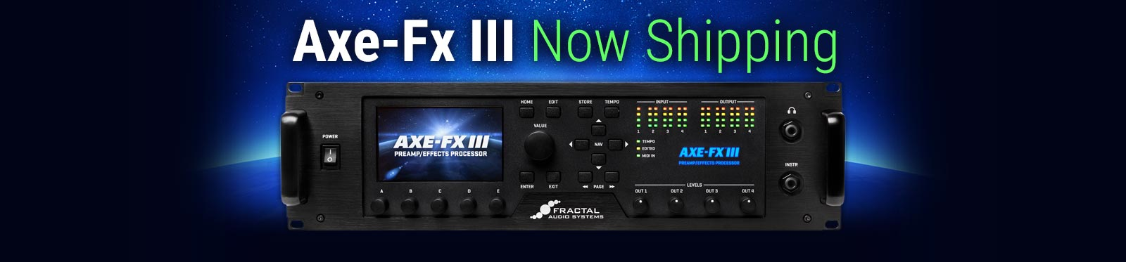 Axe-Fx III - Now Shipping