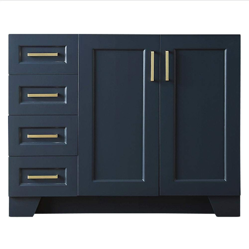 Midnight Blue Bathroom Base Cabinet