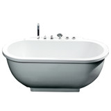 RIEL Platinum AM128 Whirlpool Bathtub (AM128JDCLZ)